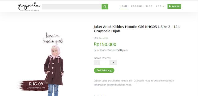 web online shop