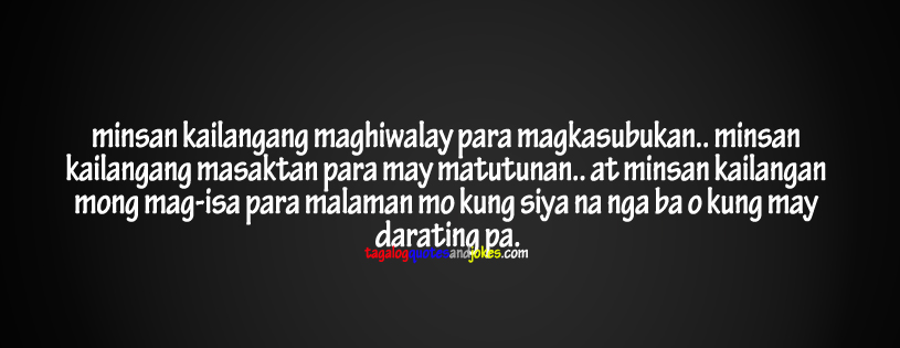 Tagalog Quotesfb Covers