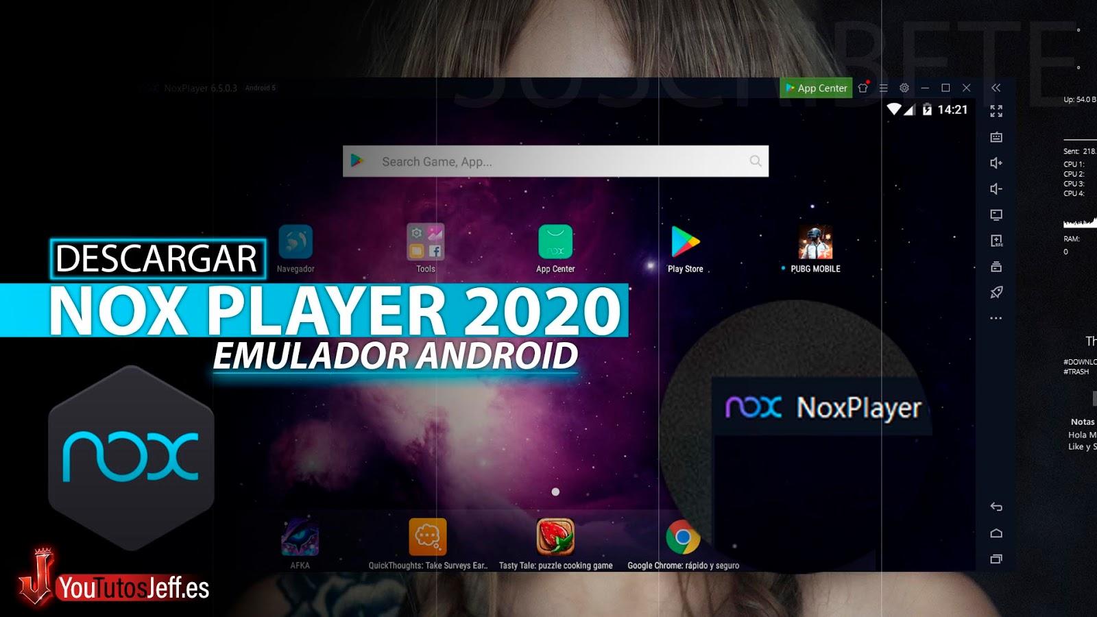 Descargar Nox Player 2020 Ultima Version Full Español, Emulador Android