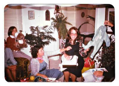 Elena Vasilev's baby shower in 1976 at 5 Coronado Avenue, Daly City, CA