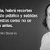 Niño Becerra advierte de la hecatombe económica que se avecina