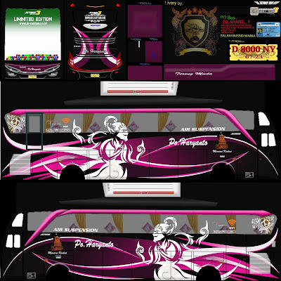 livery shd haryanto ungu wayang