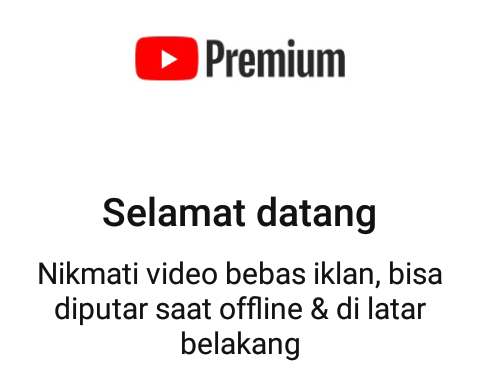 Selesai berlangganan YouTube Premium secara gratis