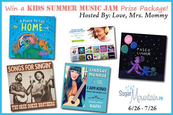 Kids Summer Music Jam Prize Package Giveaway