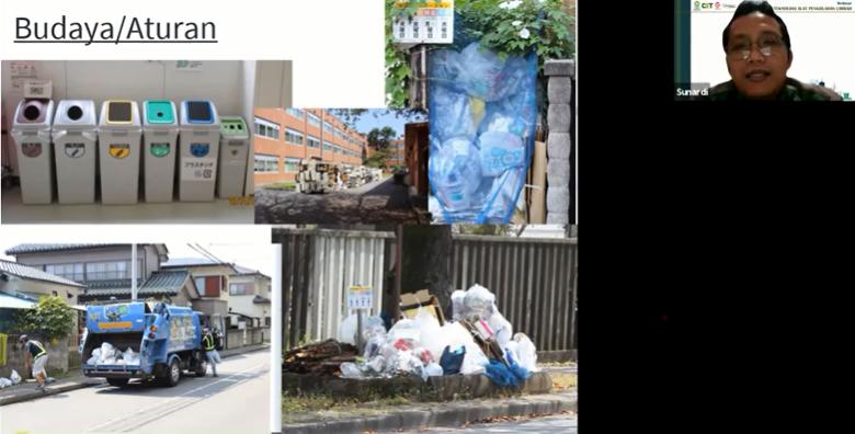 atasi sampah di Jepang