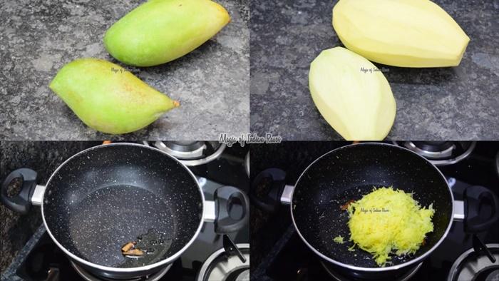 Instant Gud Ka Chunda - Long Lasting Mango Chutney with Jaggery - Aam Ka Chundo