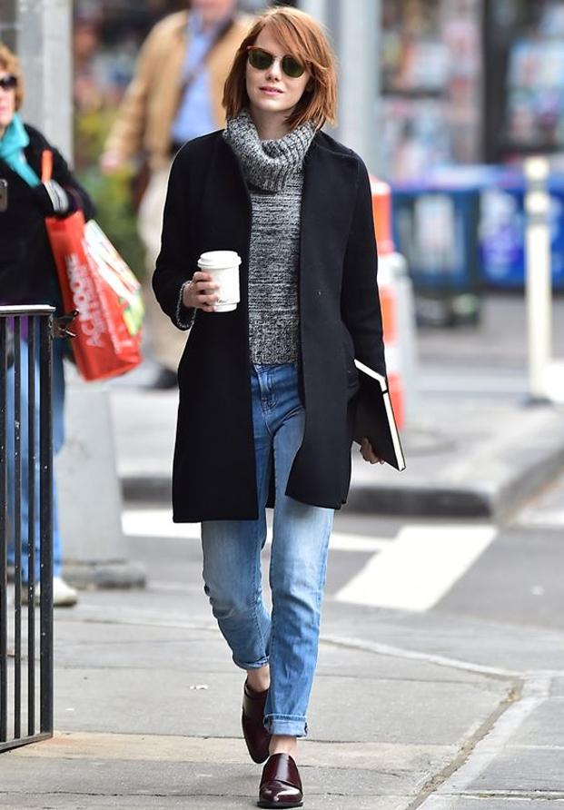 Emma Stone street syle