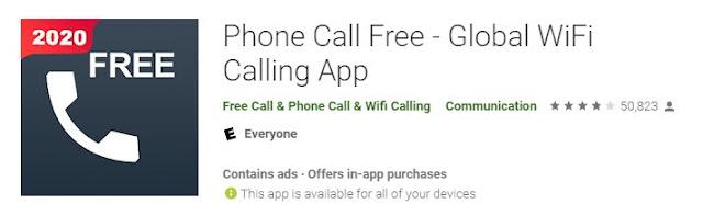Phone call free- Global WiFi Calling