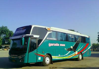 Foto Bus Garuda Mas Ningrat