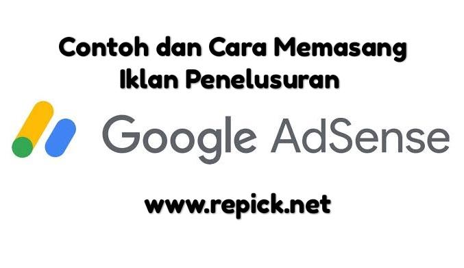 cara memasang atau membuat iklan penelusuran / search engine google adsense