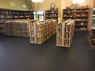 Greatmats Rubber Flooring in Liquor Store