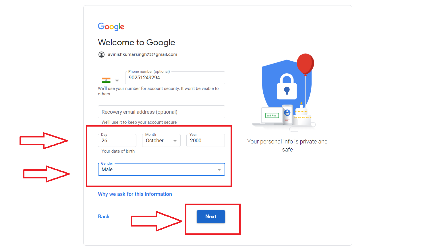 How to Create Email ID (Gmail ID) ?