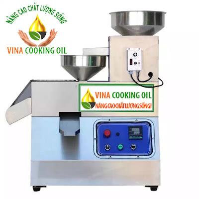 máy ép dầu vina cooking oil