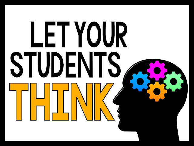 Let your students think