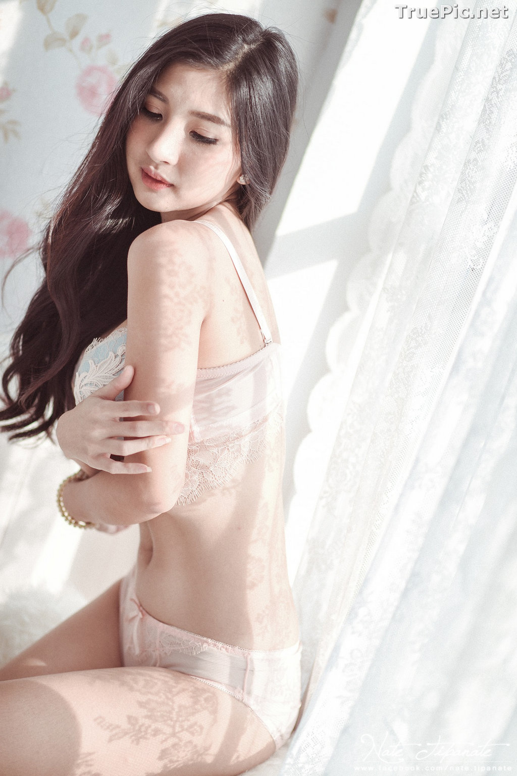 Image Thailand Model - Pattamaporn Keawkum - Sexy Sleepwear and Lingerie - TruePic.net - Picture-3