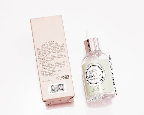 Review a;t fox Tea Cell Ampoule - Pore Tightening
