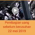 Beredar video CCTV, diduga pembagian uang pada aksi kerusuhan 22 mei