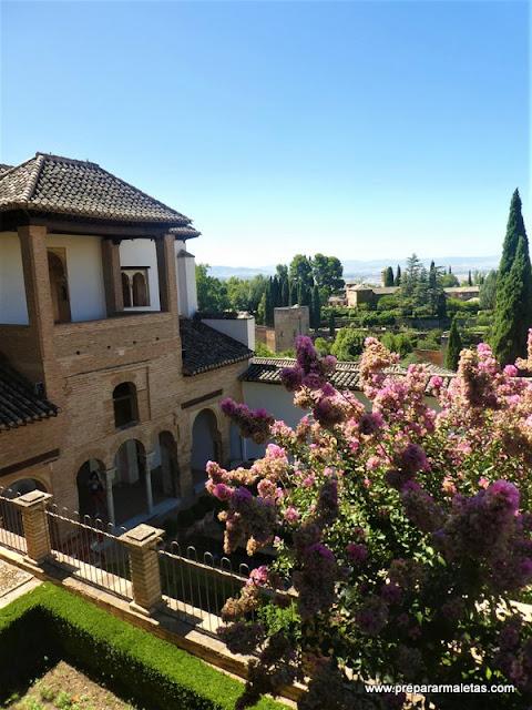 Palacio del Generalife Alhambra Granada