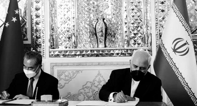 Sino-Iranian deal: New Cold War begins!