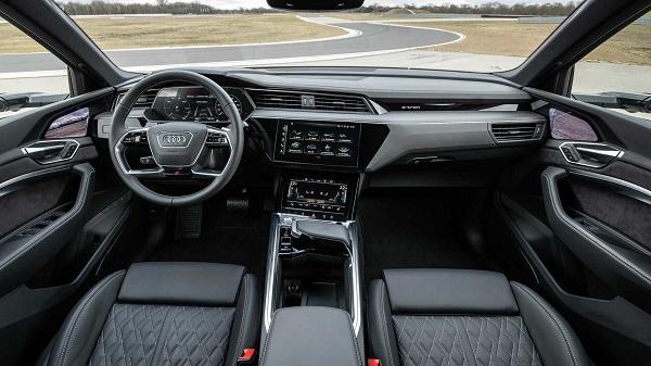 Interior Audi e-tron S Sportback