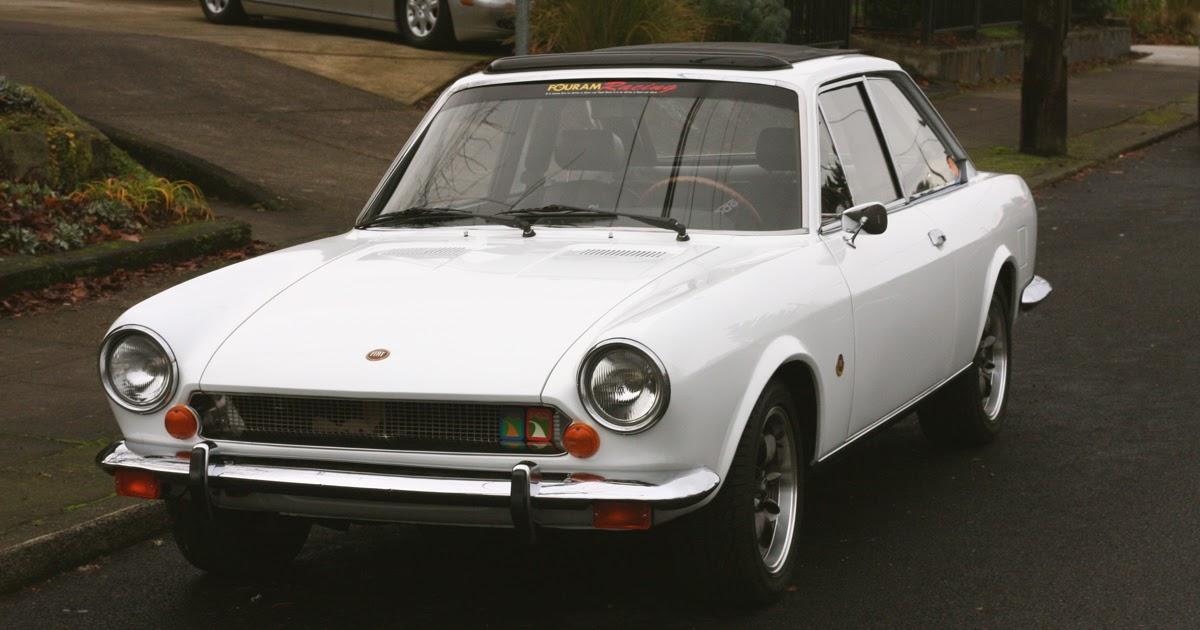 old parked cars 1969 fiat 124 sport. Black Bedroom Furniture Sets. Home Design Ideas