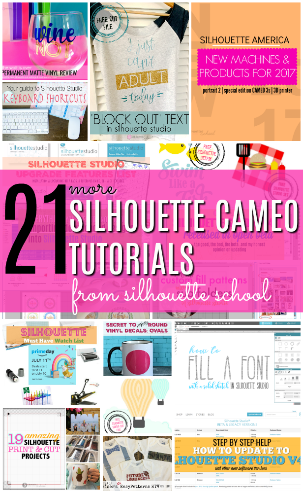 Silhouette cameo machine tutorials, free silhouette cameo designs, Silhouette Studio designer edition tutorials, Silhouette Studio Software tutorials, Silhouette Design Studio tutorials, silhouette tutorial, silhouette cameo tutorial for beginners, how to use silhouette studio, silhouette cameo 3