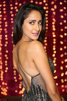 Pragya Jaiswal in a lovely Sleevelss Backless Dress at Zee Telugu Apsara Awards 2017 02.JPG