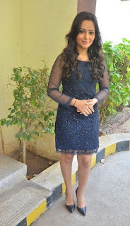 Actress Aanchal Stills in Blue Short Dress at Sei Movie Launch 0017.jpg