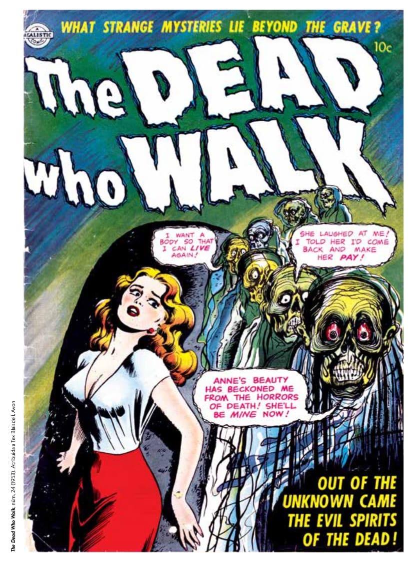 Fantasmas: Biblioteca de Cómics de Terror de los Años 50 Vol. 6