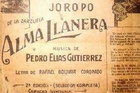 """Este  sábado el país, conmemoró 106 años del estreno de la pieza musical del segundo himno nacional de Venezuela el """"Alma Llanera"""""""