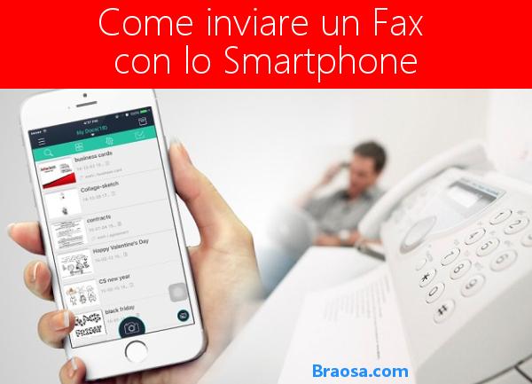 Come inviare dei documenti fax con lo smartphone facilmente