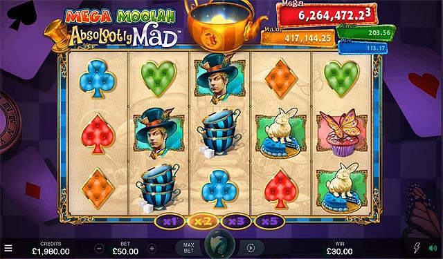 Ulasan Slot Microgaming Indonesia - Absolootly Mad Mega Moolah Jackpots Slot Online