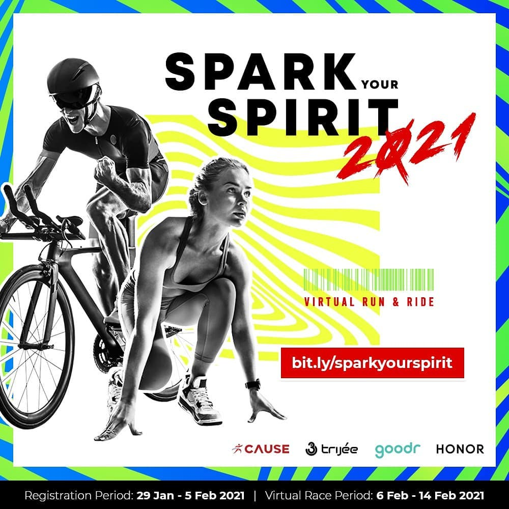 Spark Your Spirit - Virtual Run & Ride • 2021