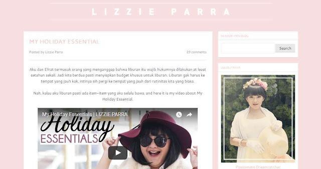 Blog Lizzieparra.com - Beauty Blogger Indonesia Terbaik