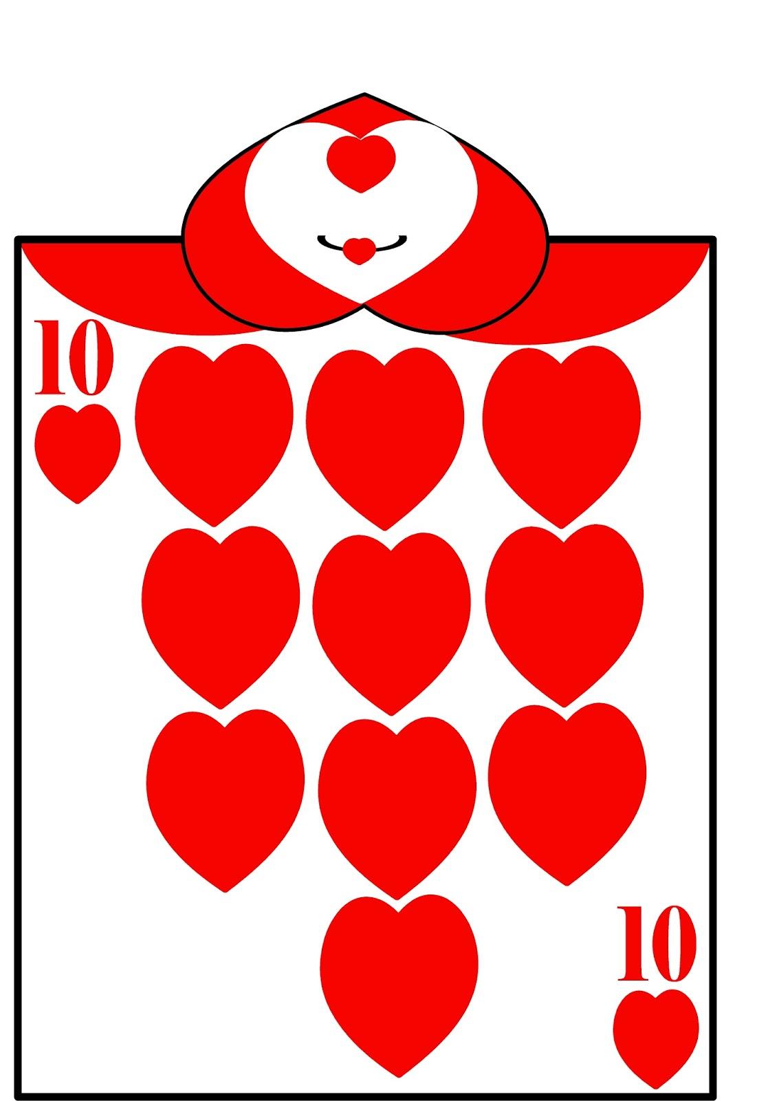HollysHome Family Life: Alice in Wonderland Card Soldiers - Free With Alice In Wonderland Card Soldiers Template