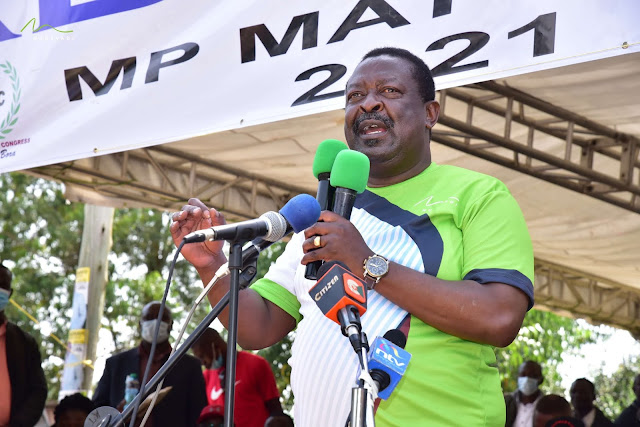ANC leader Musalia Mudavadi photo