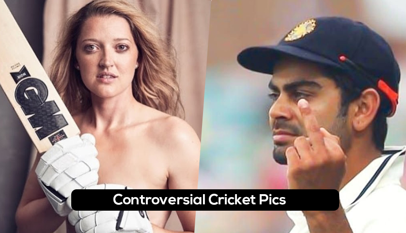 Controversial Pics of Cricketers That Shocked Everyone