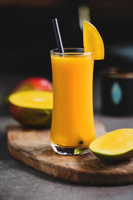 Mango shake summer treat