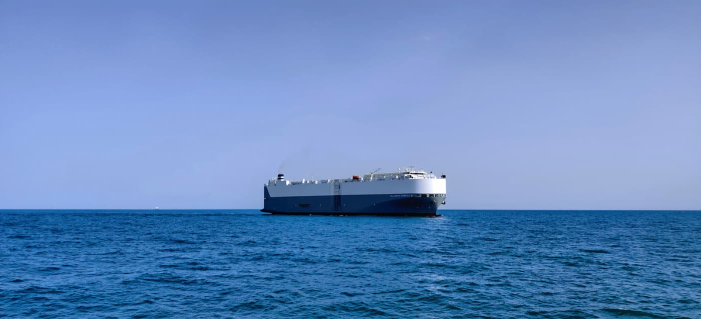 m/v alliance fairfax, car carrier , roro vessel