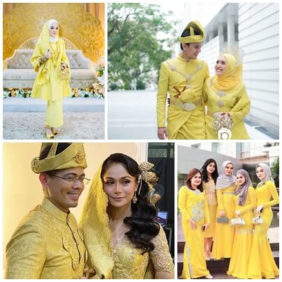 TEMA DAN TREND WARNA 2021 / 2022 Songket Kuning
