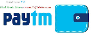 Paytm VIP Offer Rs5 Cashabck on Rs10
