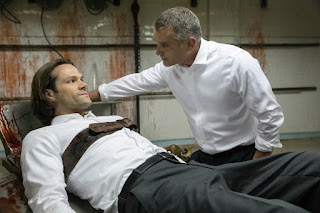 "Jared Padalecki as Sam Winchester in Supernatural 13x11 ""Breakdown"""