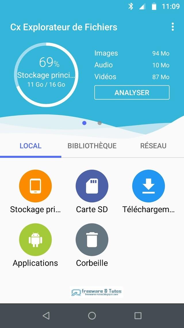 Cx Explorateur de Fichiers : une application Android indispensable !