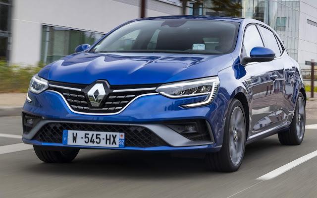 Renault Megane 2021 recebe facelift na Europa - fotos