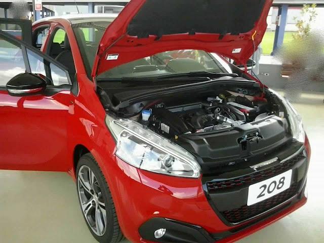 Novo Peugeot 208 2017 GT - THP Turbo Flex