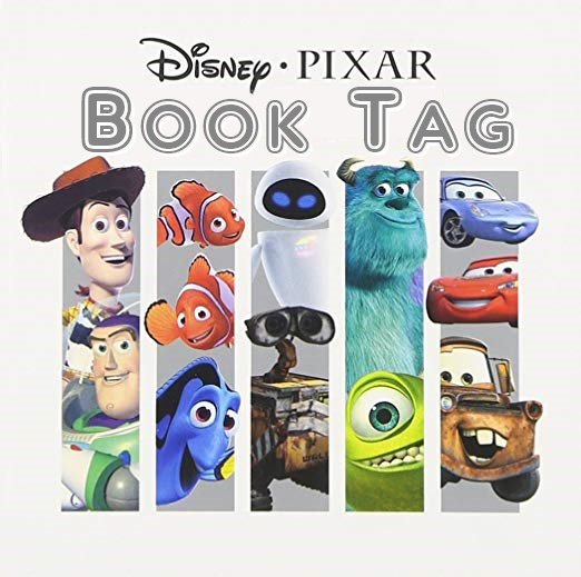 BOOK TAG - DISNEY • PIXAR