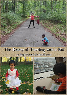 Traveling with a kid - Expectations vs Reality