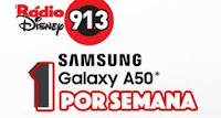 Radio Disney: Galaxy A50 por semana