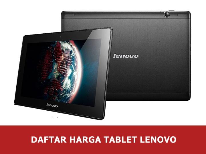 Daftar Harga Tablet Lenovo