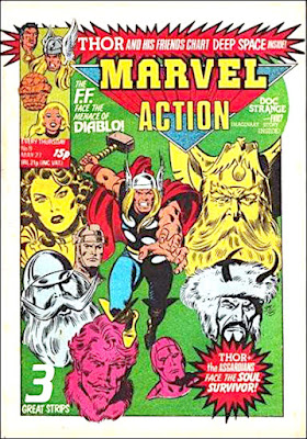Marvel Action #9, Thor